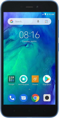 Смартфон Xiaomi Redmi Go 8GB синий xiaomi redmi go