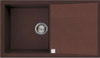 Кухонная мойка Smeg LSEQ 861 RA медный (METALTEK) smeg lgm 861 s 2