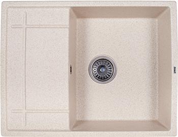 Кухонная мойка Weissgauff QUADRO 650 Eco Granit светло-бежевый  weissgauff atlas granit светло бежевый