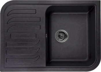 Кухонная мойка Weissgauff SOFTLINE 695 Eco Granit шоколад  weissgauff softline 780 eco granit светло бежевый