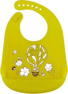 Нагрудник Happy Baby BIB POCKET 16006 Lime