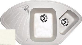 Кухонная мойка Zigmund amp Shtain ECKIG 1000.2 индийская ваниль кухонная мойка ukinox stm 800 600 20 6