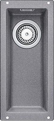 Кухонная мойка BLANCO SUBLINE 160-U SILGRANIT алюметаллик  цены