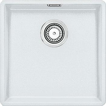 Кухонная мойка BLANCO SUBLINE 400-F белый с клапаном-автоматом  мойка subline 400 f jasmine 519800 blanco