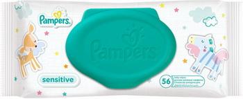 Салфетки детские Pampers Sensitive 56 шт