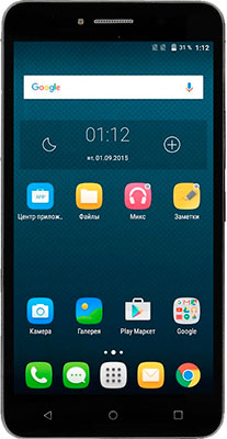 Смартфон Alcatel 8050 D Pixi 4 8Gb черный смартфон alcatel 5045d pixi 4 white orange page 6