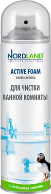 Пена для чистки ванной комнаты NORDLAND с ароматом лимона 600 мл. (392371) бытовая химия xaax средство для прочистки труб 600 мл