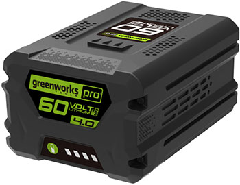 Литий-ионная аккумуляторная батарея Greenworks 60 V Digi-Pro G 60 B4 2918407 аккумуляторная батарея для ибп sybt9 b4 sybt9 b4