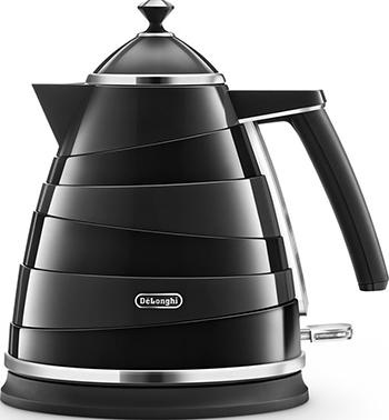 Чайник электрический DeLonghi KBA 2001.BK цена и фото