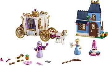 Конструктор Lego Disney Princess: Сказочный вечер Золушки 41146 конструктор lego disney princess 41154 волшебный замок золушки
