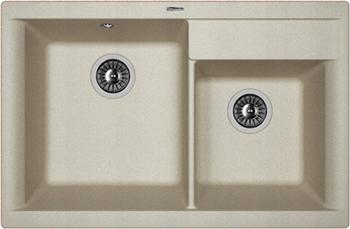 Кухонная мойка Florentina Касси 780 780х510 грей FSm мойка florentina нире 480 грей