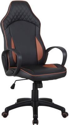 Кресло Tetchair Speedy кож/зам черный/коричневый муж бижутерия кожаные браслеты кожа белый черный коричневый