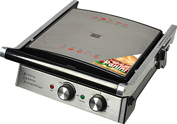 Гриль GFgril GF-180 3 in 1 WAFFLE & GRILL & GRIDDLE