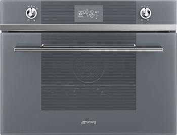 Встраиваемый электрический духовой шкаф Smeg SF 4102 VCS встраиваемый газовый духовой шкаф smeg sf 800 gvpo