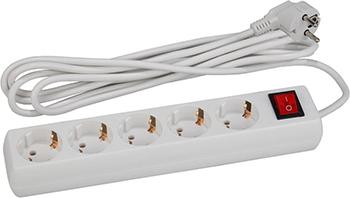 Удлинитель ЭРА U-5es-3m (белый) цена и фото