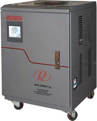 Стабилизатор напряжения Ресанта АСН-20000/1-Ц трехфазный стабилизатор напряжения энергия voltron 20000 3d 20 ква