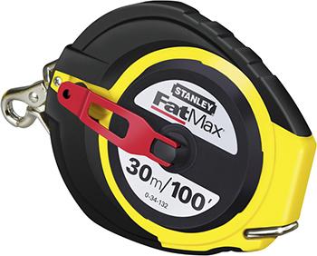 Рулетка Stanley FATMAX 30мx9.5мм 0-34-132 рулетка stanley fatmax 30мx9 5мм 0 34 132