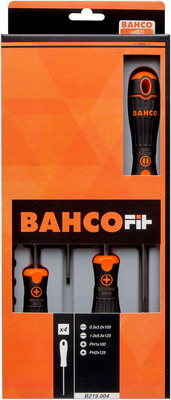 Набор отверток BAHCO B 219.004 набор стамесок bahco в футляре