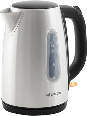 Чайник электрический Kitfort КТ-632 чайник катунь кт 106b 2 5 л нержавеющая сталь шоколад