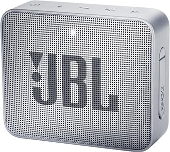 Портативная акустическая система JBL GO2 серый JBLGO2GRY динамик jbl портативная акустическая система jbl flip 4 цвет squad