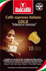 Кофе капсульный Italcaffe Espresso Gold 10 шт.