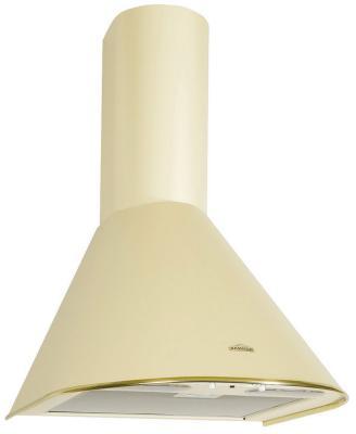 Вытяжка купольная ELIKOR Эпсилон 60 ваниль золотой кант  elikor эпсилон 60 нержавейка серебро