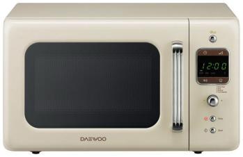 Микроволновая печь - СВЧ Daewoo Electronics KOR-6LBRC кремового цвета  микроволновая печь свч daewoo electronics kor 6l6b