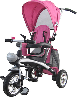 Трехколесный велосипед-беговел Sweet Baby Mega Lexus Trike Pink рюкзак hama sweet owl pink blue
