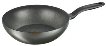Вок (WOK) Tefal C 6921902 Hard Titanium+ 28 набор сковородок tefal hard titanium c6929072 21 28см 2 предмета