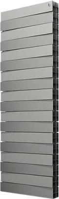 Водяной радиатор отопления Royal Thermo PianoForte Tower/Silver Satin - 18 секц. радиатор отопления royal thermo pianoforte 500 silver satin 10 секц