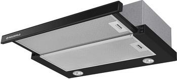 Встраиваемая вытяжка MAUNFELD VS SLIDE 60 чёрный/черное стекло стойка alteza albero tv 32110 черное стекло