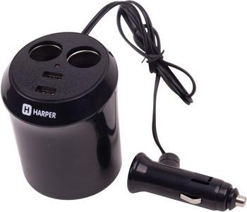 Автомобильное зарядное устройство Harper DP-186 автомобильное зарядное устройство olto cch 2103 harper o00000562