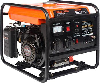 Электрический генератор и электростанция Patriot 474101615 MaxPower SRGE 2700 i электрический генератор и электростанция patriot 474101610 maxpower srge 2000 i