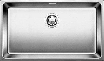 Кухонная мойка BLANCO ANDANO 700-IF нерж. сталь зеркальная полировка без клапана-автомата мойка кухонная blanco andano 500 if без клапана автомата 518315