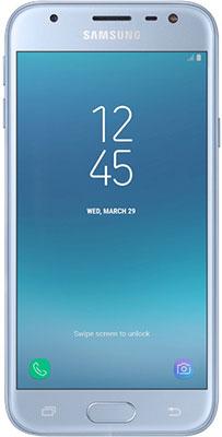 Мобильный телефон Samsung Galaxy J3 (2017) голубой мобильный телефон s7562 samsung galaxy s duos s7562 sim gsm 3g 4 0 wifi gps 5