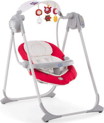 Электрокачели Chicco POLLY SWING UP Paprika 07079110710000 chicco polly magic paprika
