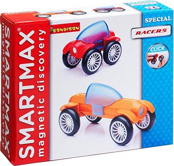 Конструктор Bondibon SmartMax Специальный (Special) набор: Гонщики ВВ0877 конструктор bondibon гонщики bb0877