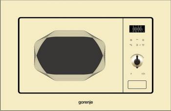 Встраиваемая микроволновая печь СВЧ Gorenje BM 201 INI микроволновая печь gorenje mmo20dgeii mmo20dgeii