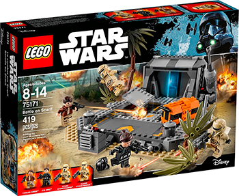 Конструктор Lego ''Битва на Скарифе'' 75171-L конструктор lego star wars битва на планете такодана 75139