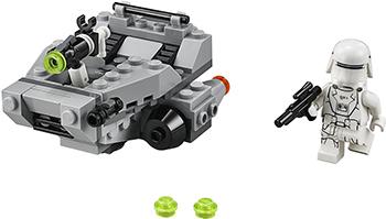 Конструктор Lego STAR WARS Снежный спидер Первого Ордена 75126-L конструктор lego star wars имперский шаттл 75163 l