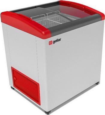 Морозильный ларь Gellar FG 200 E красный морозильный ларь бирюса б 260к