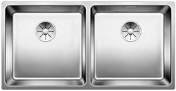 Кухонная мойка BLANCO ANDANO 400/400-IF InFino нерж. сталь 522985 мойка andano 700 if 518616 blanco