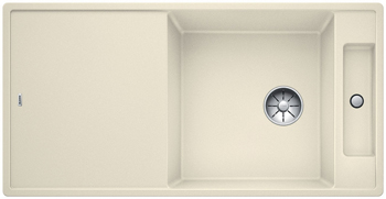Кухонная мойка BLANCO AXIA III XL 6 S InFino Silgranit жасмин ( столик ясень) 523505 кухонная мойка blanco axia iii xl 6 s infino silgranit мускат столик ясень 523508