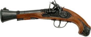 Пистолет Schrodel Blunderbuss Pirat 27см 5031691 пистолет schrodel blunderbuss pirat 27см 5031691