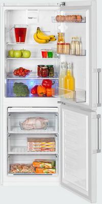 Двухкамерный холодильник Beko RCNK 296 E 21 W двухкамерный холодильник beko rcne 520 e 21 zx