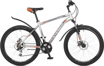Велосипед Stinger 26'' Element D 20'' серый 26 AHD.ELEMD.20 GR7 велосипед stinger element d 26 2015