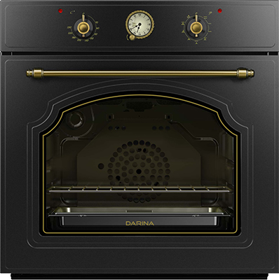 Встраиваемый электрический духовой шкаф Darina 1U8 BDE 111 707 At электрический духовой шкаф darina 1u8 bde 111 707 at
