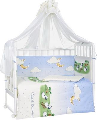 Комплект постельного белья Sweet Baby Agnello Beige комплект в кроватку sweet baby agnello beige бежевый с рис 7 предметов сатин