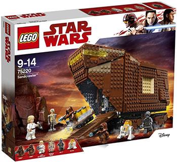 Конструктор Lego Star Wars TM 75220 TM Песчаный краулер