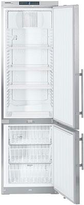 Двухкамерный холодильник Liebherr GCv 4060-20 нерж. сталь z 3 gcv 135